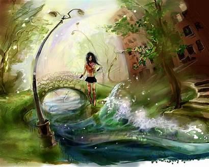 Paintings Water Desktop Artistic Painting Wallpapers Backgrounds