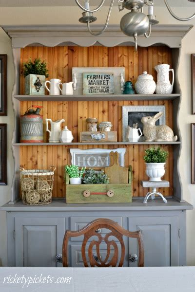 hutch means hutch farmhouse style tips for decorating yours