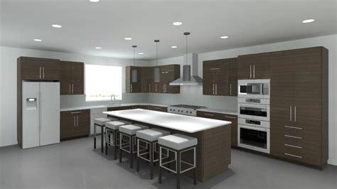 Kitchen House Model by 3d Revit Cabinets Cabinetry Modern Model