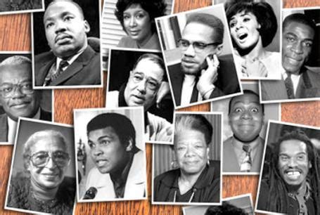 Black History Month Icons
