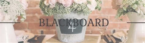 blackboard chalkboard wedding decorations for sale signs centrepieces name cards more