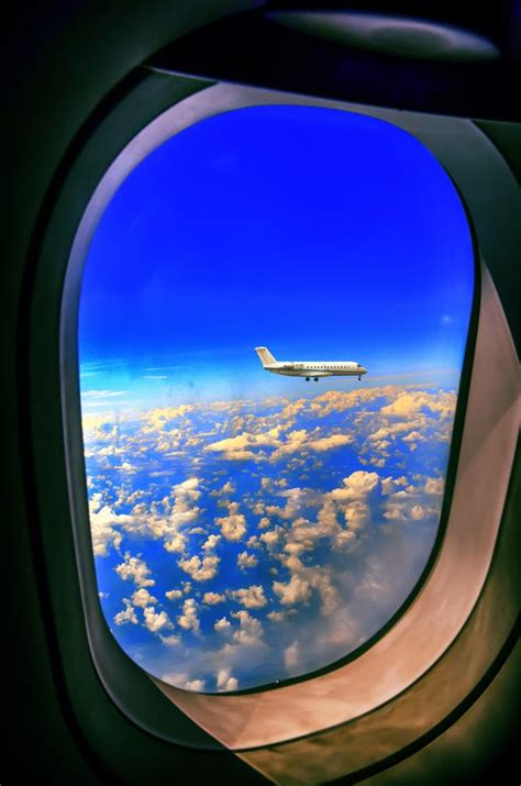 Through The Window By Palash Kundu Via 500px Airplane