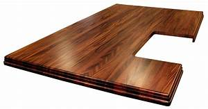 Custom Wood Countertop Options - Finishes