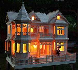 Victorian Barbie Doll House Woodworking Plans to make-your