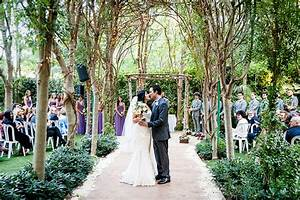 gorgeous botanical garden wedding in los angeles from With wedding ceremony in los angeles
