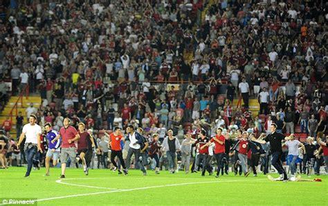 Bristol City condemn crowd trouble with Bristol Rovers ...