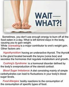 What Causes Weight Gain