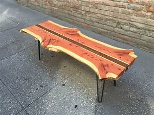 bookmatched red cedar live edge coffee table p10224 With live edge cedar coffee table