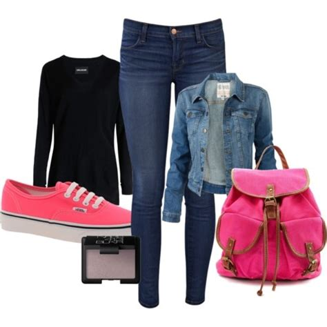 Outfit With Vans Shoes