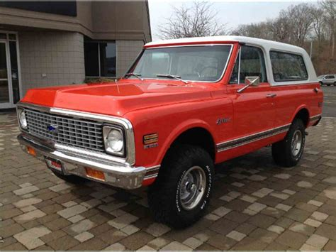 Chevrolet Blazer For Sale by 1972 Chevrolet Blazer For Sale Classiccars Cc 907187