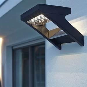 Applique Exterieur Solaire : lampe et balise solaire de jardin borne et clairage ~ Dode.kayakingforconservation.com Idées de Décoration