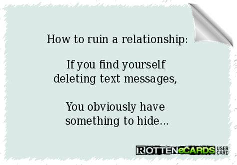 how to remove yourself from a text on iphone how to ruin a relationship if you find yourself deleting