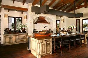 Eclectic Spanish Style Lake House mediterranean kitchen austin 1174