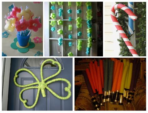 Light Up Pool Noodle by Home Confetti Pool Noodle Crafts
