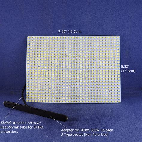 led replacement light panels    halogen