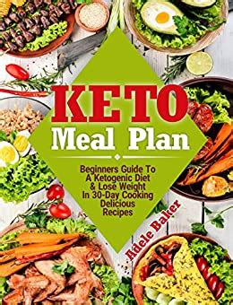 amazoncom keto meal plan beginners guide   ketogenic