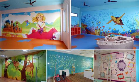 preschool wall decoration play school decor idea 248