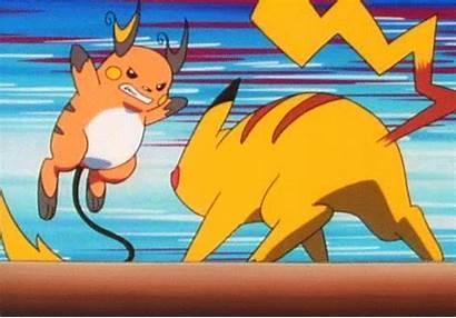 Pokemon Raichu Pikachu Gifs Anime Vs Result