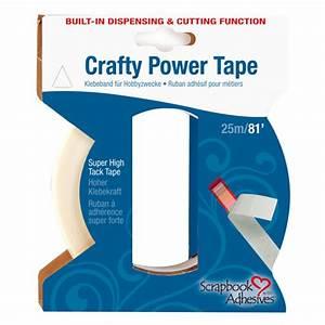 Klebeband Für Textilien : crafty power tape mit spenderfunktion doppelseitiges ~ Watch28wear.com Haus und Dekorationen