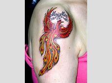 Tatuaje Ave Fenix Mujer Significado Tattoo Art