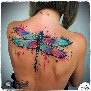 45 Fascinating Dragonfly Tattoo Designs - TattooBlend