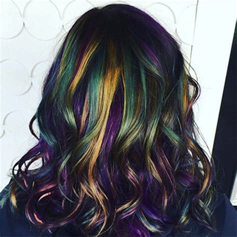 How To Create Oil Slick Hair Tricoci University Of