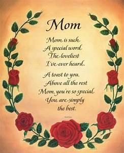 few words for mom | ... how much you love your mother by ...