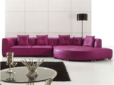 purple sofas living rooms purple leather sectional sofas for your room with black