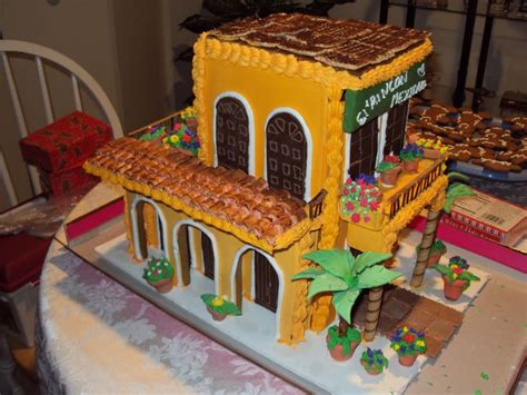 mexican casa gingerbread house parties pinterest