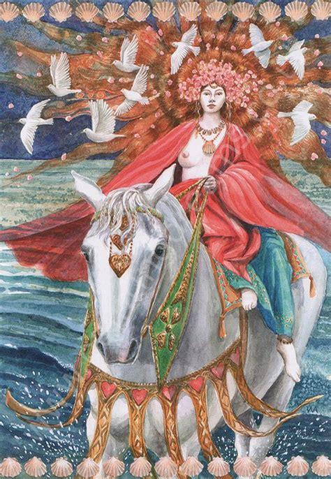 rhiannon goddess  love painting dreams