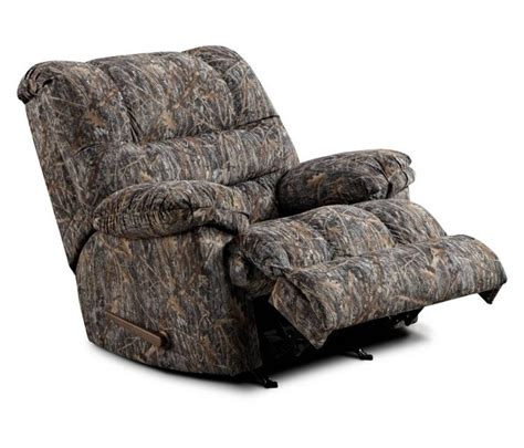 camo rocker recliner simmons camouflage microfiber rocker recliner by united