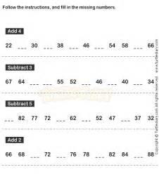 number sequence worksheet 19 math worksheets grade 1