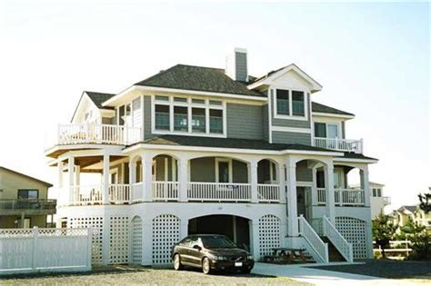coastal houses house plans plan collection