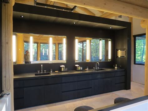 Modern Master Bathroom Vanities by Black Master Vanity Modern Bathroom Denver By 186