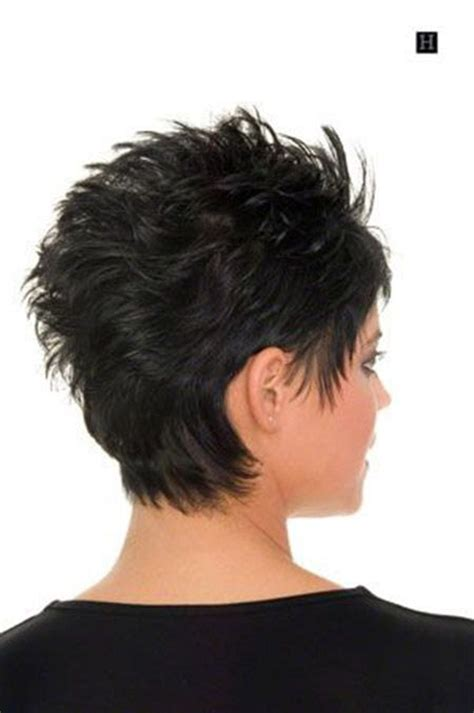 back view of short haircuts hair pinterest short