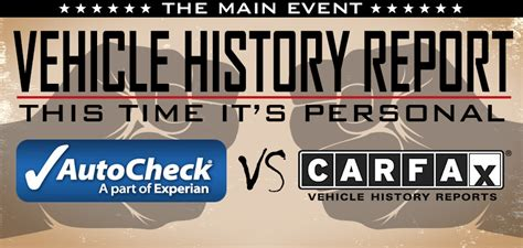 carfax  autocheck reports   dont