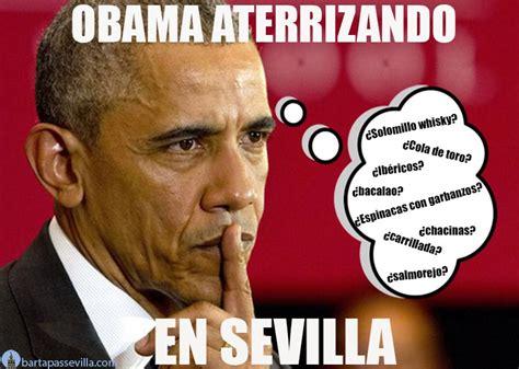Obama Memes Memes De Obama En Sevilla Bar Tapas Sevilla