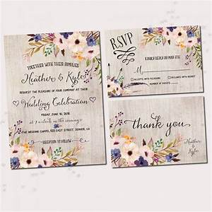 floral wedding invitations watercolor floral printable With watercolor flower wedding invitations free