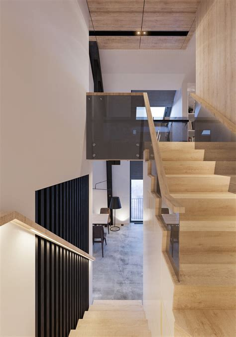 Attic Conversion Creates A Warm, Contemporary Home (With