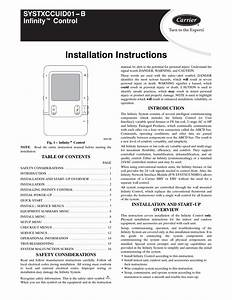 Carrier Infinity Thermostat Wiring Diagram