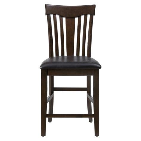 Mirandela Birch Counter Height Chair  Set Of 2 [836