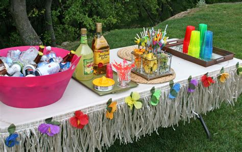 tropical table ls cheap luau party ideas activities luau party ideas for special