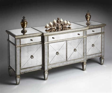 mirrored buffet tables top 20 of mirrored sideboards and buffets 4158