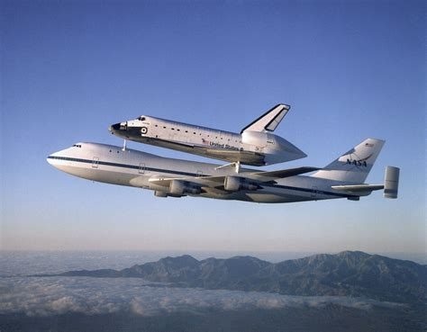 Stock Photo of The Space Shuttle Atlantis Atop Carrier ...