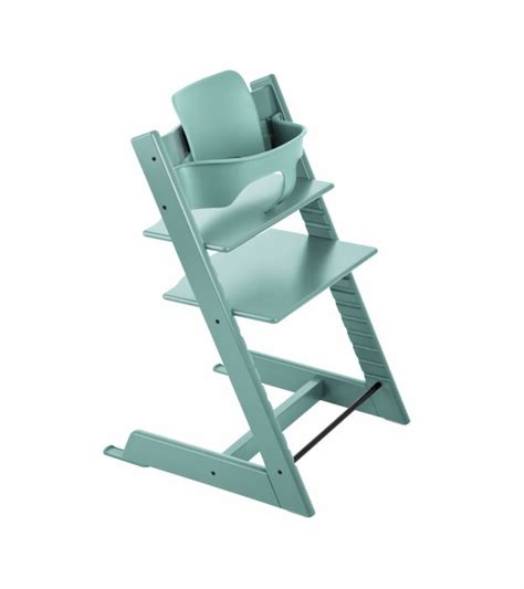 Trip Trap Hochstuhl stokke tripp trapp high chair baby set aqua blue