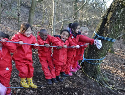benefits  forest schools kindling play  training