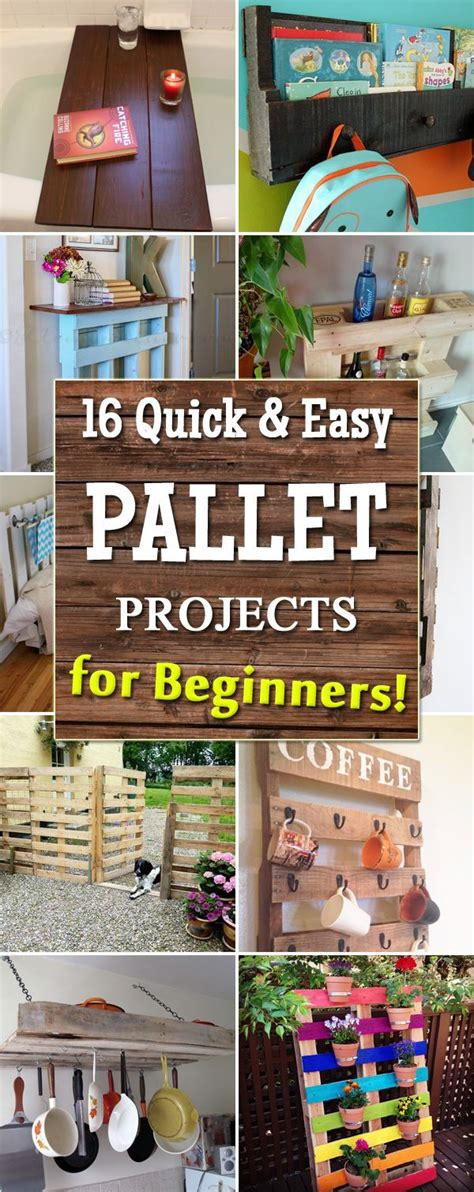 quick  easy pallet projects  beginners pallet