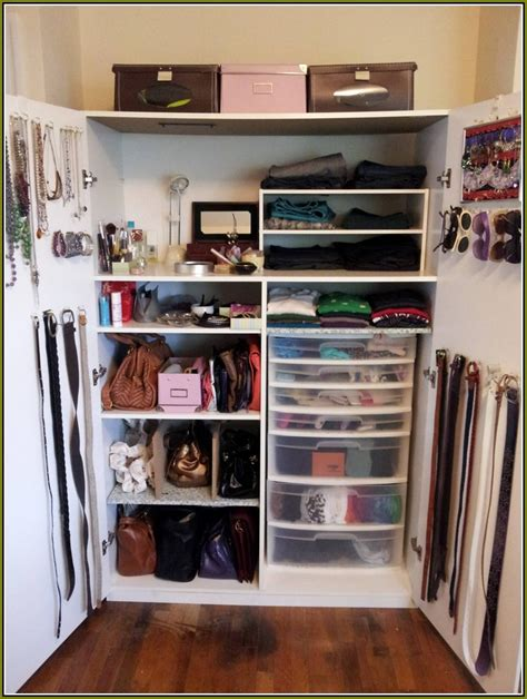 Small Closet Organizers Pinterest  Home Design Ideas