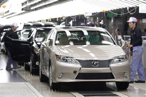 toyota motors japan toyota nears 10 million car annual output the japan times