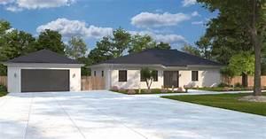 Bungalow Mit Garage Bauen : mediterraner bungalow mit garage verona dialuxe massivhaus ~ Lizthompson.info Haus und Dekorationen
